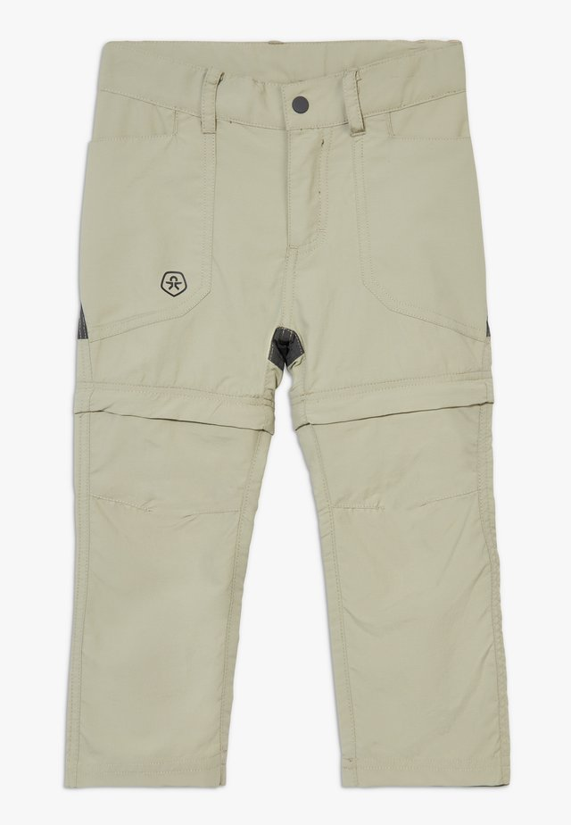 TIGGO ZIP OFF PANTS - Pantalones montañeros largos - seagrass