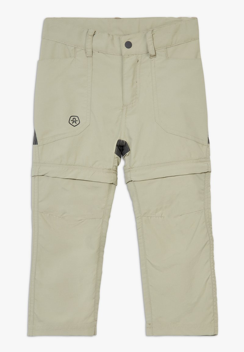 Color Kids - TIGGO ZIP OFF PANTS - Outdoor trousers - seagrass