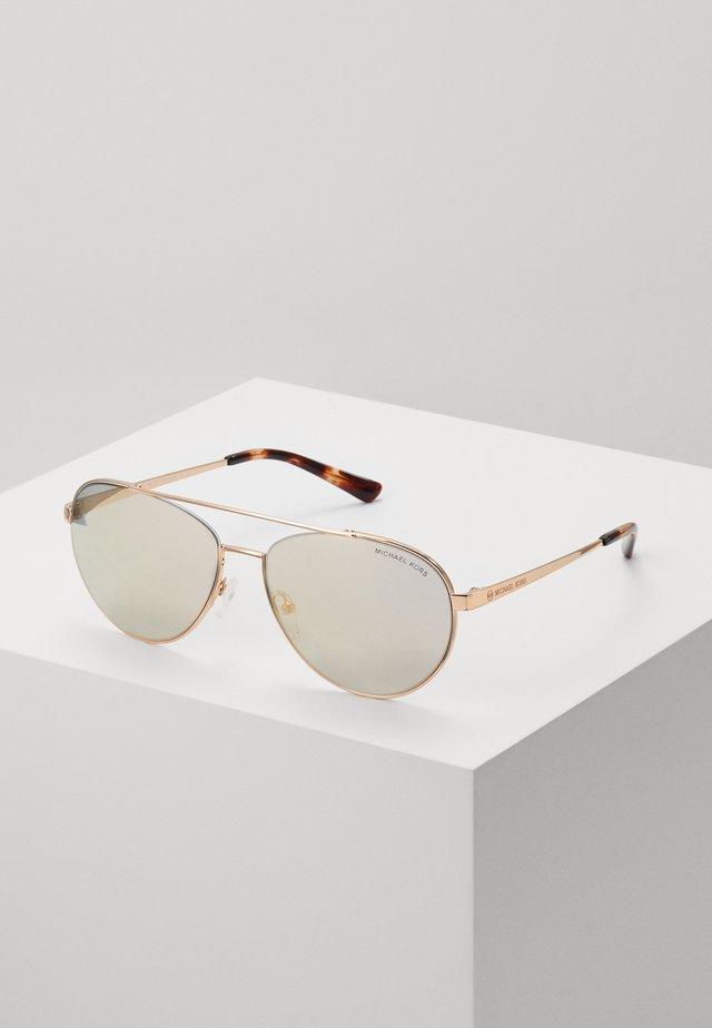 AVENTURA - Okulary przeciwsłoneczne - rosegold-coloured