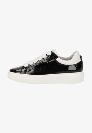 Sneakers laag - schwarz kombi