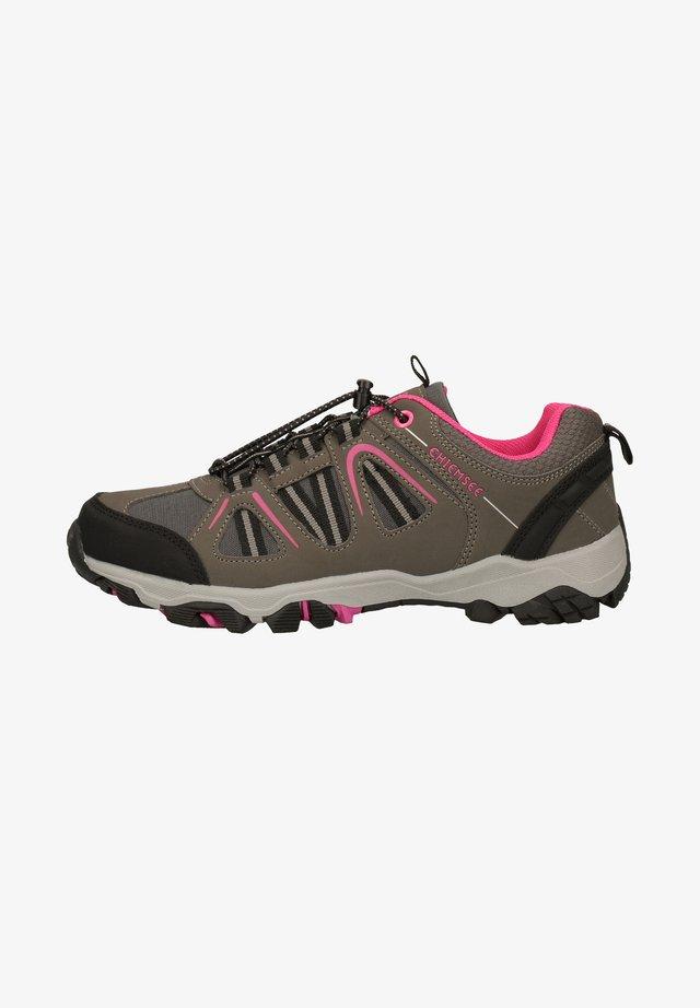 Chaussures de marche - charcoal/fuchsia