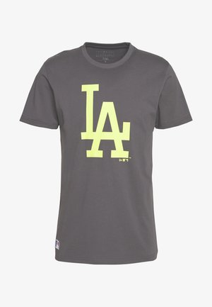 MLB LOS ANGELES DODGERS SEASONAL TEAM LOGO TEE - Klubové oblečení - dark grey