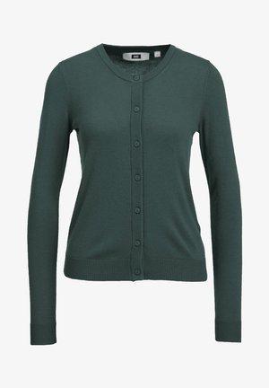 Cardigan - greyish green