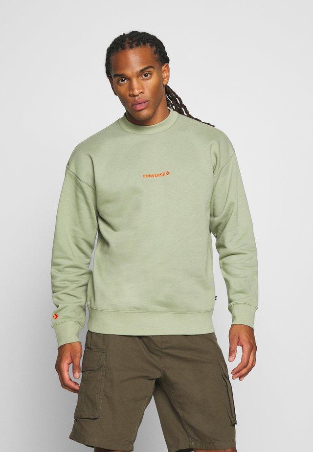 MOCK NECK CREW - Sweatshirt - street sage