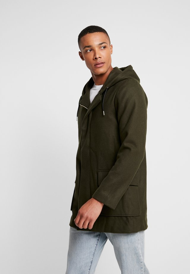 CANAL JACKET - Manteau court - moss