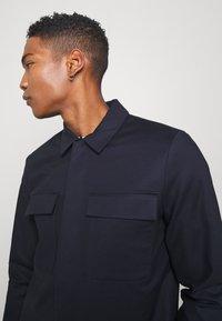 Topman - SMART SHACKET  - Summer jacket - navy - 3