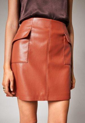 Mini skirt - cinnamon