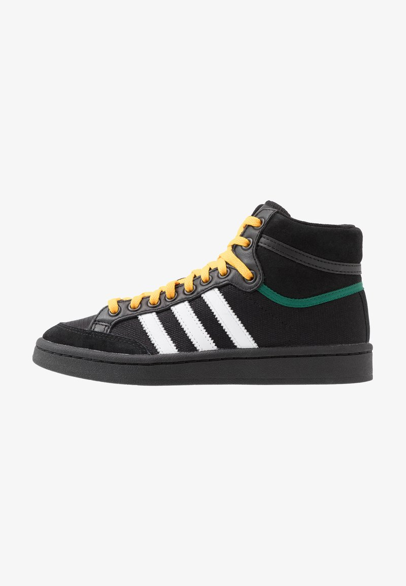 adidas Originals - AMERICANA - Sneakers alte - core black/collegiate green/active gold