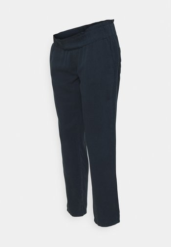 PANTS - Trousers - navy