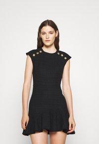sandro - Day dress - noir - 0