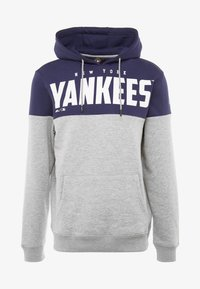 Fanatics - MLB NEW YORK YANKEES PANNELLED HOODIE - Pelipaita - dark blue - 4