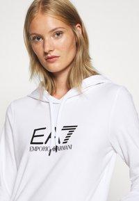 EA7 Emporio Armani - Sweatshirt - white/black - 4