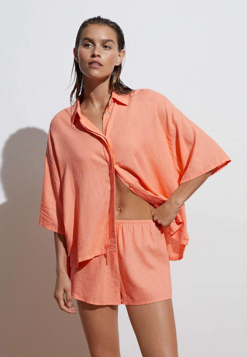 OYSHO - Camicia - coral