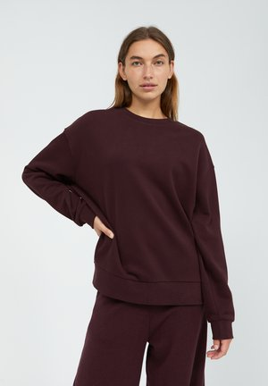 AARIN - Sweatshirt - aubergine