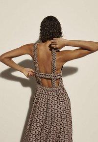 Massimo Dutti - Maxi dress - brown - 2