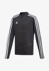 adidas Performance - TIRO 19 TRAINING TOP - Sportshirt - black - 0