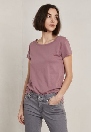 Basic T-shirt - pale wine