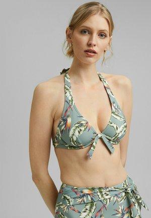 Bikini top - light khaki