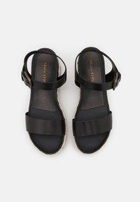 Marc O'Polo - ILARIA  - Platform sandals - black - 5