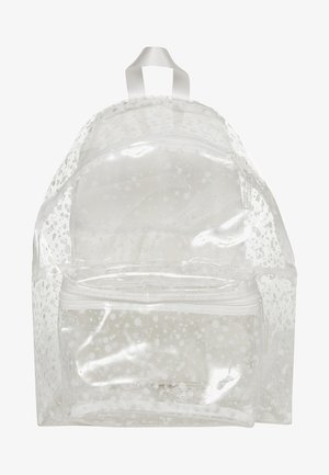 CRYSTAL CLEAR - Rucksack - splash white
