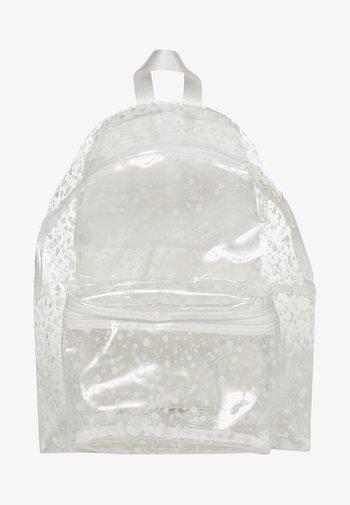 CRYSTAL CLEAR - Rucksack - splash white
