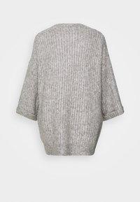 YAS - YASSUNDAY CARDIGAN - Cardigan - light grey - 1