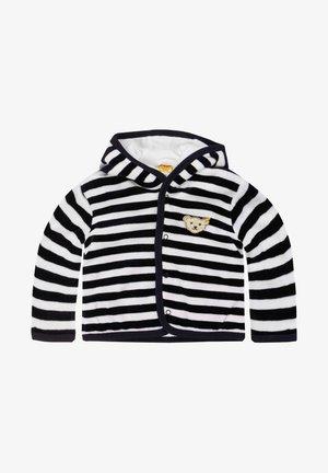 MIT KAPUZE - Fleece jacket - marine