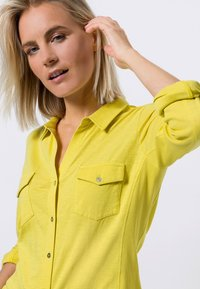 zero - Button-down blouse - yellow lime - 3