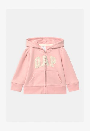 TODDLER GIRL LOGO  - veste en sweat zippée - icy pink