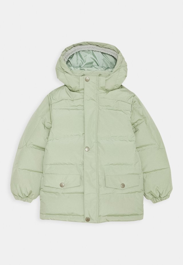 WALI JACKET - Dunkåpe / -frakk - tea green