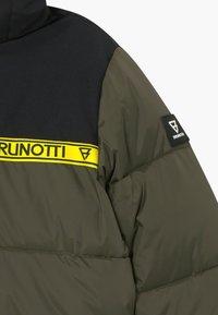 Brunotti - ROLF BOYS - Snowboard jacket - pine grey - 3