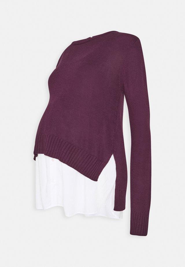 KEISHA - Pullover - burgundy