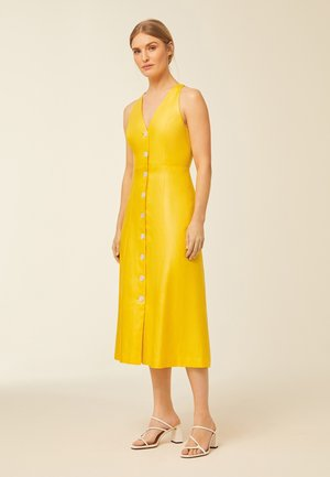 Cocktail dress / Party dress - sun yellow