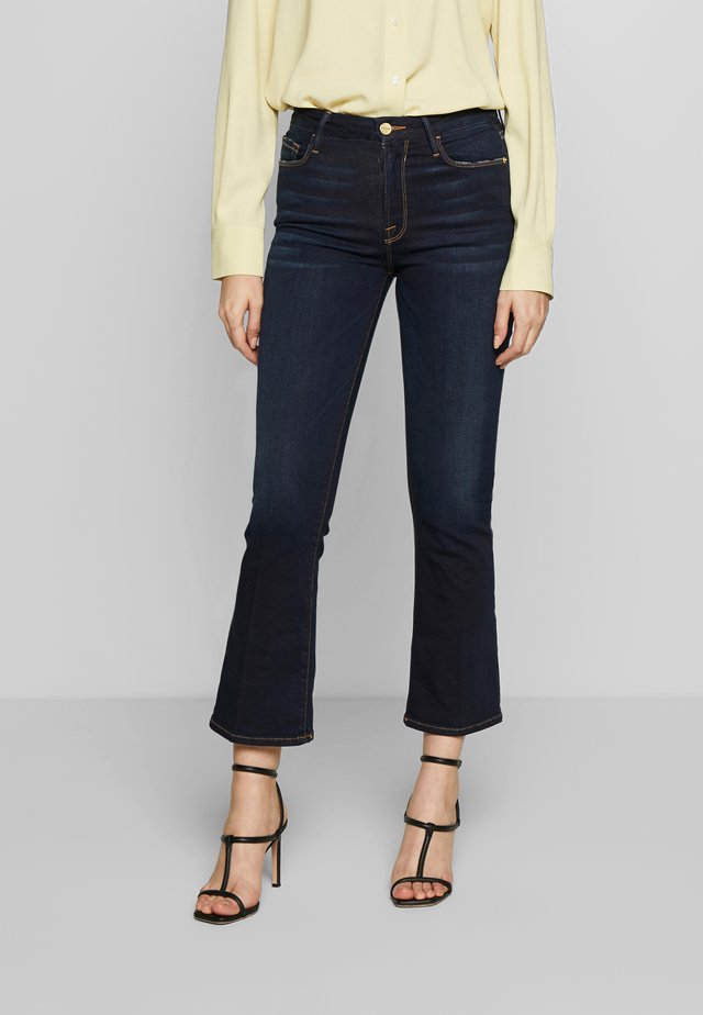 LE CROP - Jeansy Bootcut - cabana
