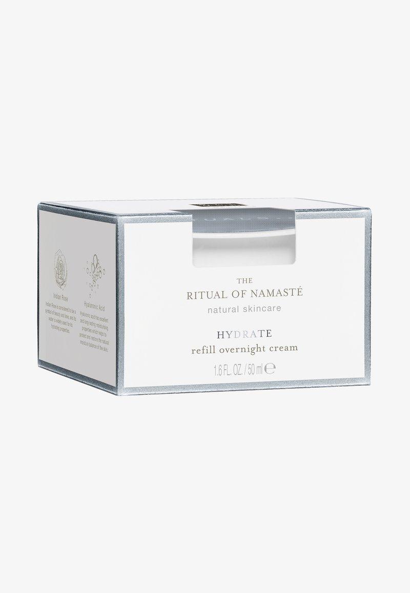 Rituals - THE RITUAL OF NAMASTÉ HYDRATING OVERNIGHT CREAM REFILL - Night care - -