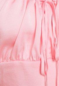 Missguided Tall - TALLTEXTURE SQUARE NECK TOP - Blusa - blush - 2