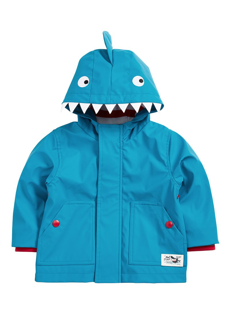 Next - RED SHOWER RESISTANT RUBBER JACKET (3MTHS-7YRS) - Impermeable - blue