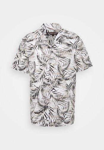 LAWN PALM CAMP - Shirt - white