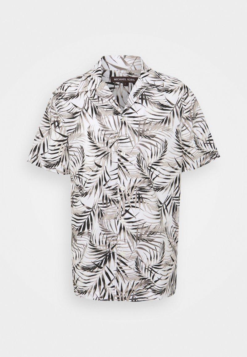 Michael Kors - LAWN PALM CAMP - Shirt - white