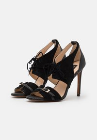 Pinko - FRANCINE - High heeled sandals - nero limousine - 2