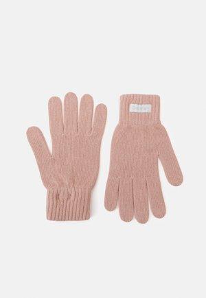 GLOVES - Gloves - desert rose