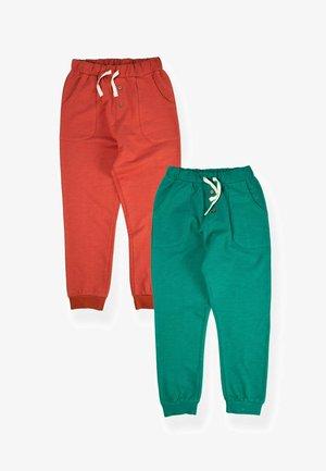 2 PACK SET - Pantaloni sportivi - dark green, red