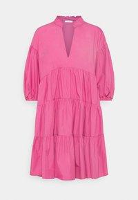 iBlues - LORETTA - Denní šaty - fuxia - 0