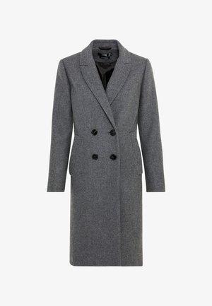 Classic coat - grey melange
