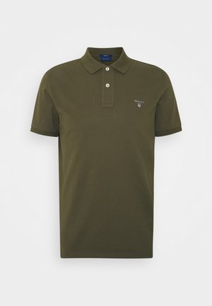 THE ORIGINAL RUGGER - Poloshirt - dark cactus