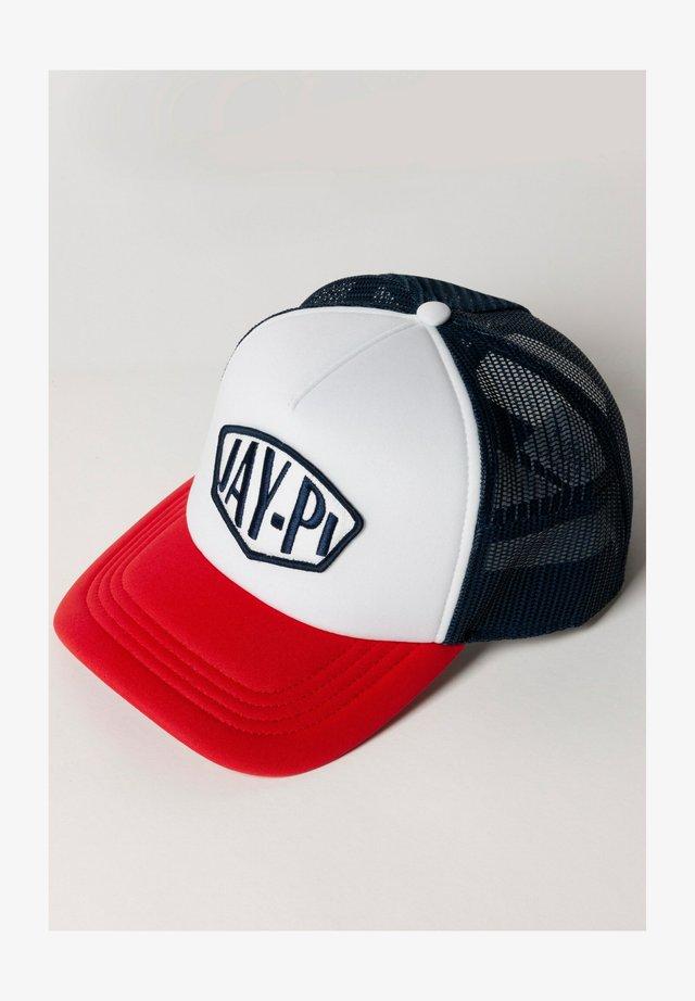 Cap - marine/rood