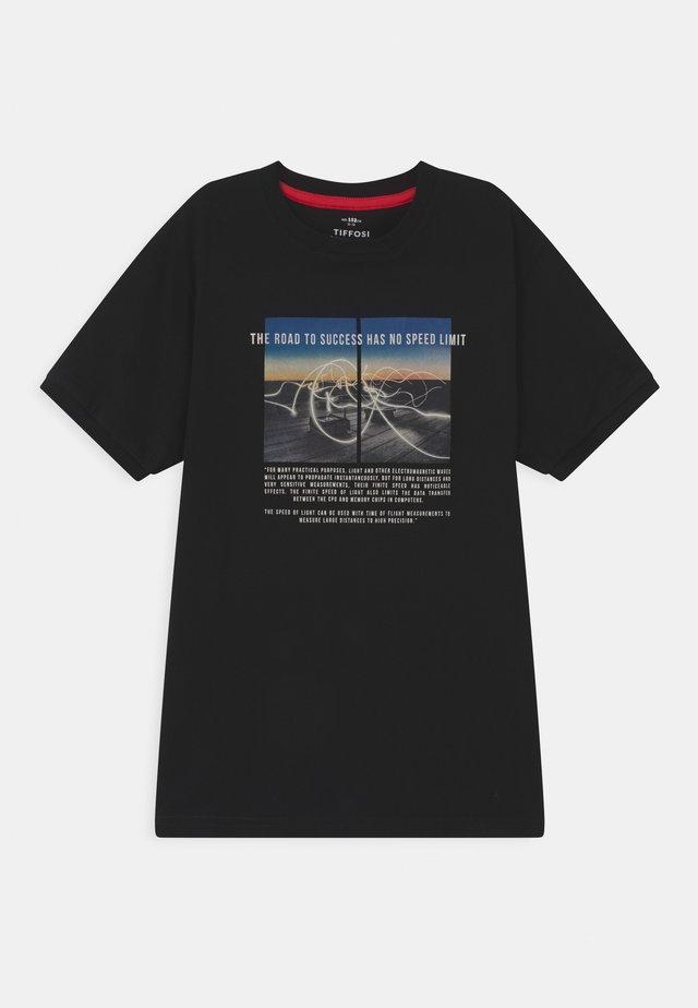 ASH - T-shirt imprimé - black