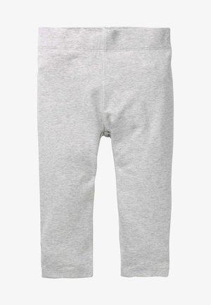 GESCHNITTENE EINFARBIGE  - Leggings - Trousers - grau meliert