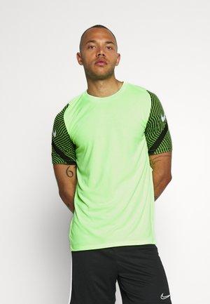 DRY STRIKE - T-Shirt print - ghost green/cargo khaki/white