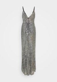 TFNC Tall - FAE MAXI - Společenské šaty - black silver - 1